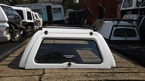 Isuzu 2006-2011 Go Big Double Cab Half Door Canopy & Isuzu 2006-2011 Go Big Double Cab Half Door Canopy - Trans Natal ...