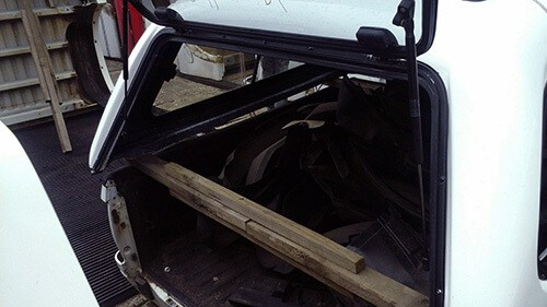2008/2011 - Ford Ranger - Mazda Double Cab - Half Door Canopy-6