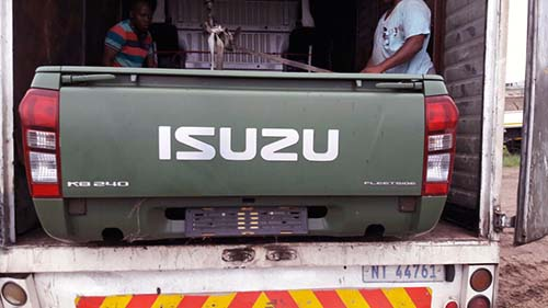 Isuzu 2016 Long Wheel Base Load Bin