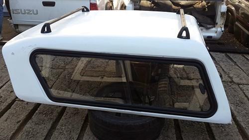 Toyota 2006-2015 Hilux D4D VVTi D-CAB Half Door Canopy 3