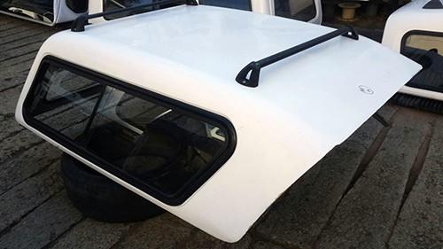 Toyota 2006-2015 Hilux D4D VVTi D-CAB Half Door Canopy 2
