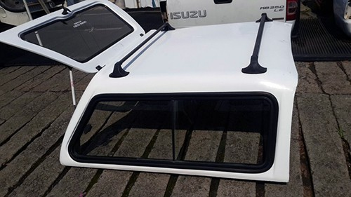 Isuzu 2006-2011 Go Big Double Cab Half Door Canopy