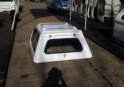 Opel Corsa 2006-2011 Half Door Canopy Second Hand/Used
