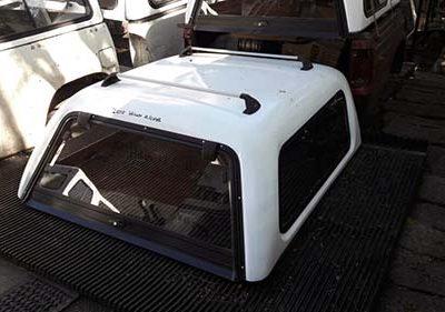 Toyoya Hilux 06-10 D4D-VVTi Double Cab Half Door Canopy
