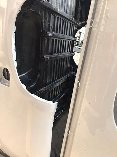 Toyota Hilux 2011 LWB Bin With Tailgate